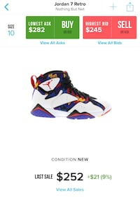 "Air Jordan 7s "" Nothing But Net "" Stafford, 77477"