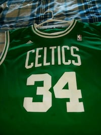 Boston Celtics home team jersey