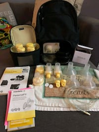 Medela double breast pump in great shape Windsor, N9H 2L1