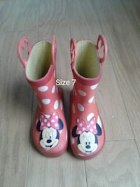 Minnie Mouse toddler boots size 7 Woodbridge, 22193