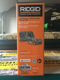 Ridgid battery and charger Mississauga, L5L 1X2