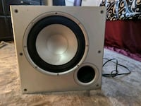 gray and black subwoofer speaker Edmonton, T6H 5J1