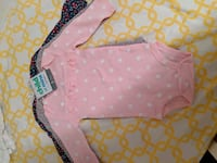 Set of 3 long sleeve onsies 3 month Rockville, 20850