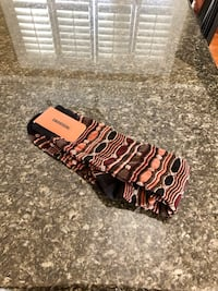 Missoni men's socks . New , never used . Brown tones, size large.