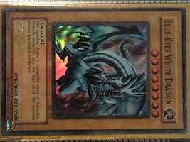 1996 Yu-Gi-Oh ! 1st Edition Blue-Eyes White Dragon SKE-001 RARE
