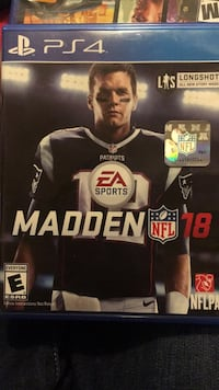 Sony PS4 Madden NFL 18 case District Heights, 20747