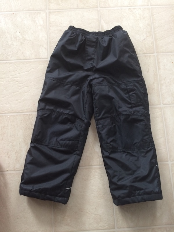 boy's black cargo pants