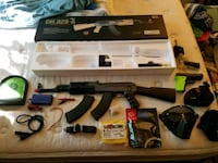 Airsoft AK and all my other stuff