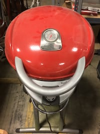 Red Charbroil Grill