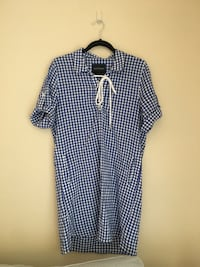 Blue and white dress Henderson, 89011