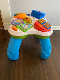 Fisher Price sanitized Actity Table