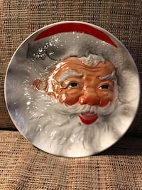 Vintage Santa Plate (Reduced) Otsego, 55330
