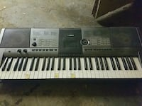 black and gray electronic keyboard Montréal, H1G 4H2