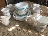 white ceramic dinnerware set and ceramic dinnerware set Brampton, L6R 0R5
