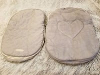 2 Car Seat Covers for Winter($10 each) Mississauga, L4X 1S4