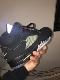 Metalic jordan 5s icy mint condition  Kearny, 07032
