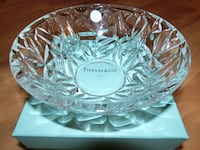 Tiffany & Co Rock cut Crystal Bowl Elkridge