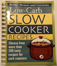 Low-Carb Slow Cooker Recipes (Paperback, Better Homes and Gardens)