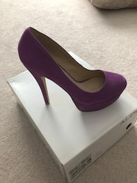Purple Suede Closed Toe Aldo Pumps Size 39  Vaughan, L4L 1A6