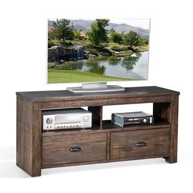Tobacco leaf lulu solid wood tv stand