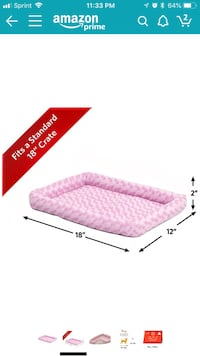 NEW X-Small Dog / Cat / Pet Bed Pink San Diego, 92126