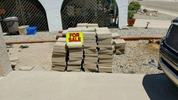 """Patio Pavers 12""""×12"""" approximate 400"""