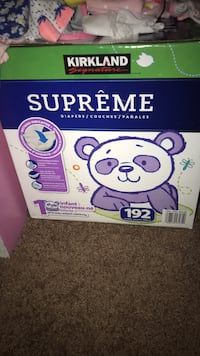 Unopened  Kirkland diapers size 1 Annandale, 22003