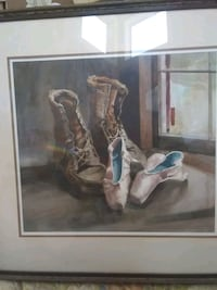Painting by + Fouche USA 1989 Henderson, 89074