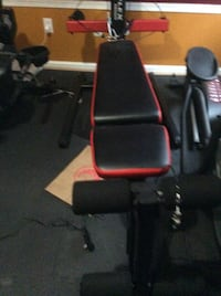 Black and red flat bench press Virginia Beach, 23456