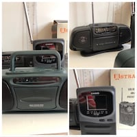 Pocket Radio AM/FM Mini Boom Box TV Standard Brampton, L6T