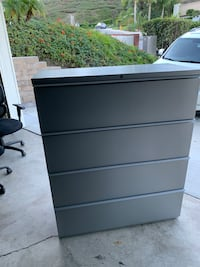 2 Large 4 drawer file cabinet- great condition!