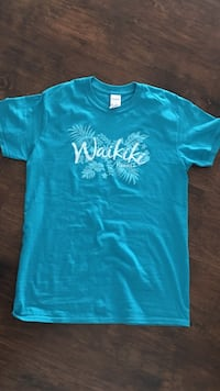 Waikiki Hawaii blue shirt (size small) Poulsbo, 98370