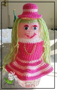 pink and green knitted scarf Springfield, 22150