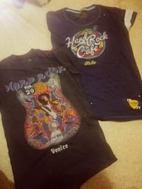 To st HARD ROCK CAFE T SHIRTS FRA OSLO/VENICE Oslo, 0177