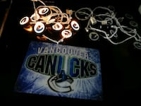 Vancouver Canucks Lights & Sign  Red Deer