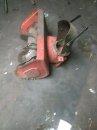 Snow blower front end off a Toro