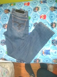 Rock Revival and Miss Me jeans.