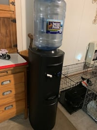 black and gray hot and cold water dispenser Fredericksburg, 22405