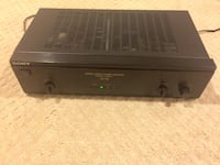Sony TA-N110 stereo power amplifier Silver Spring