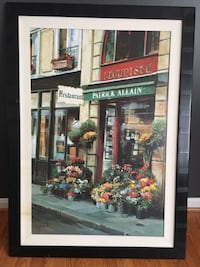 Italian restaurant painting replica framed artwork Severn