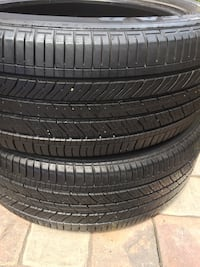 245 50 20 goodyear eagle pair of 2 tires Manassas, 20110
