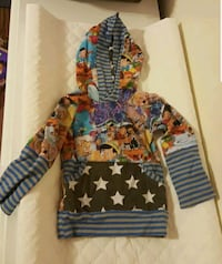 Pinocchio hoodie  Sterling, 06354