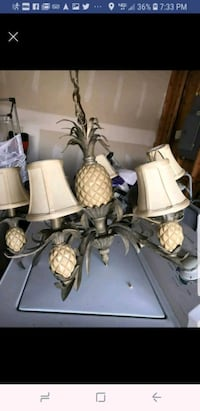 Pineapple chandelier light fixture New Albany, 47150
