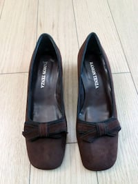 Ramon Tenza brown suede 8B women designer shoes Vaughan, L4J 9G7