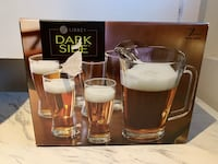 7pc Beer Glass and Pitcher Set