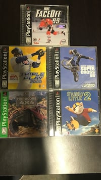 Ps1 games Lot 6 Aliquippa, 15001