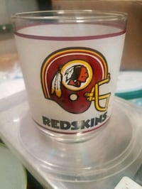 Redskins glass cup Martinsburg, 25404