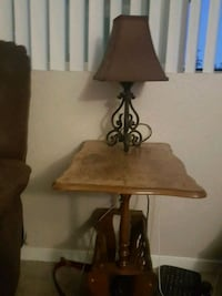 Side table and lamp Sparks, 89434