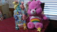two pink and purple bear plush toys Rosemead, 91770
