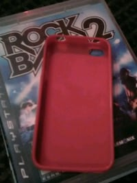 red and black iPhone case Saint Thomas, N5P 2X4